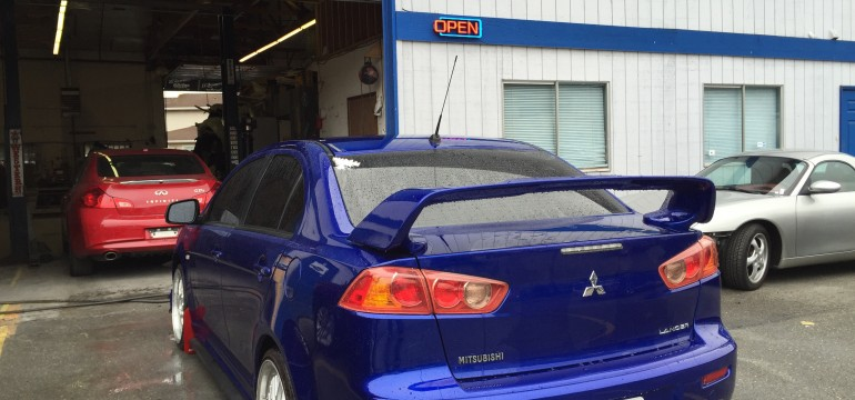2008 Mitsubishi Lancer Fix and Painted